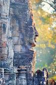 Estátua do Templo de Bayon, Angkor, Siem Reap, Camboja — Fotografia Stock