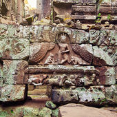 Angkor woman bas-relief, Cambodia — 图库照片