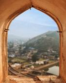 View from Amber fort, Jaipur, India — Stock Photo
