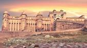 View of Amber fort, Jaipur, India — Stock Photo