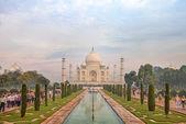 Taj Mahal, Agra, Uttah Pradesh, India — Φωτογραφία Αρχείου