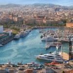 View of Barcelonetta beach — Stock Photo #68986421