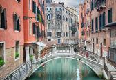 Canal of Venice, Italy — Stock Photo