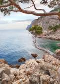 Rocky seascape of Crimea, Ukraine — Stock Photo