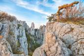 Amazing cliffs of Crimea, Ukraine — Stock Photo