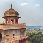 Agra Red fort, India, Uttar Pradesh — Stock Photo #74026169