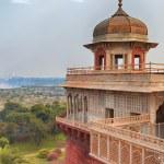 Agra Red fort, India, Uttar Pradesh — Stock Photo #74026341