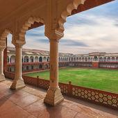 Agra Red fort, India, Uttar Pradesh — Stock Photo