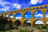 Pont du Gurd, Provence, France — Stock Photo