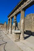 The temple of Apollo in Pomeii — Stock Photo