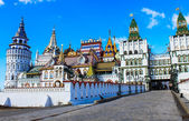 Izmailovskiy Kremlin, Moscow — Stock Photo