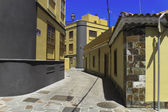 Желтые улицы — Стоковое фото