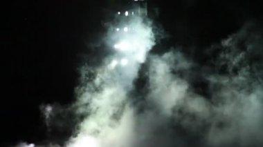 Concert Lights Flashing — Stock Video