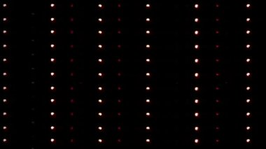Flashing Lights Movie Sign — Video Stock