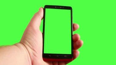 Utilizzando uno smart phone — Video Stock
