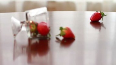 Strawberry, Wonderful Fresh Fruit — Stock Video