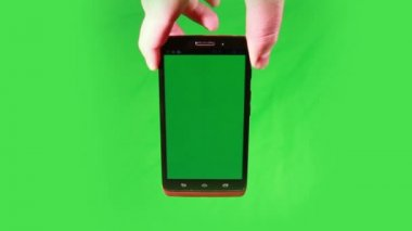 Using a Smart Phone — Stock Video