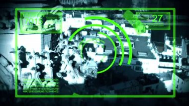 Tracking System Surveillance — Stok video