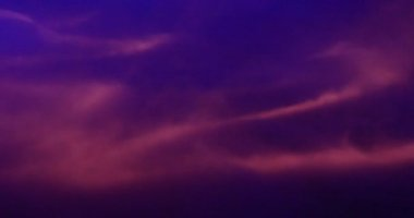 Purple smoke wave — Stock Video