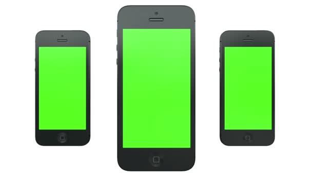 Smart Phones Animation — Vídeo de stock