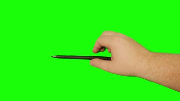 écrire avec un stylo — Vidéo