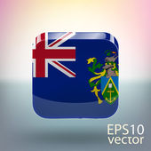 Flag of Pitcairn Islands — Stock Vector