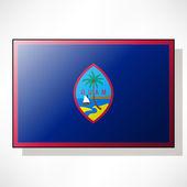 Flag of Guam — Stock Vector