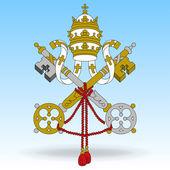 Flag of Vatican City — Stock Vector
