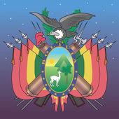 Bolivian Emblem — Stock Vector