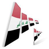 Flag of Iraq — Stock Vector