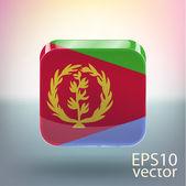Eritrea flag — Stock Vector