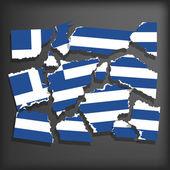 Flag of Greece — Stock Vector