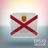Flag of Jersey — Stock Vector