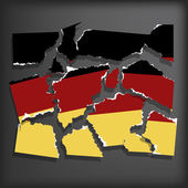Flag of Germany — Stock Vector