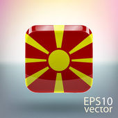 Flag of Macedonia — Stock Vector