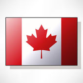 Flag of Canada — Stock Vector