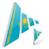 Flag of Kazakhstan — Stock Vector