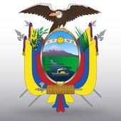 Coat of arms of Ecuador — Stock Vector