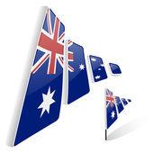Flag of Australia — Stock Vector