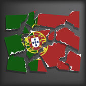 Flag of Portugal — Stock Vector