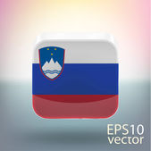 Slovenia flag — Stock Vector