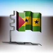 Sao Tome and Principe — Stock Vector