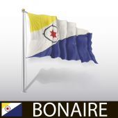 Flag of Bonaire — Stock Vector