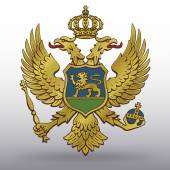 Coat of arms of Montenegro — Stock Vector
