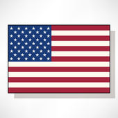 Flag of United States of America — Stock Vector