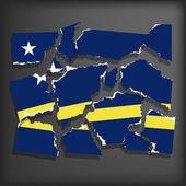 Flag of Curacao — Stock Vector