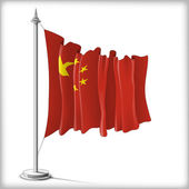 Flag of China — Stock Vector