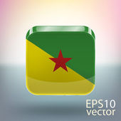 Flag of Guiana for Freedom — Stock Vector
