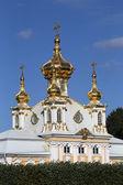 Petrodvorets Church building — Stock Photo