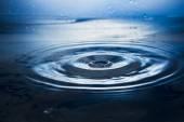 Water. Drops. Spray. Wavelets. — Stock Photo